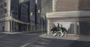 City Toko Speed Paint by KJfromColors