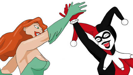 Harley And Ivy (Duo in Crime)