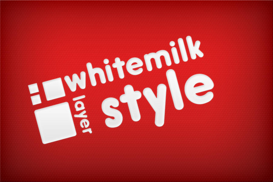 Whitemilk layer style by Idered