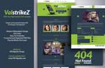 [FREEBIE] ValstrikeZ Portfolio Web PSD Template