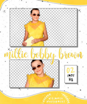 Png Pack 13 - Millie Bobby Brown