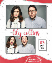 Photopack 33 - Lily Collins by ultimatephotopacks