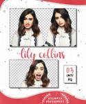 Png Pack 33 - Lily Collins