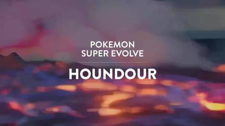 Pokemon Super Evolve - Houndour