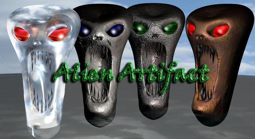 Alien Artifact - Free Model by joseph-sweet