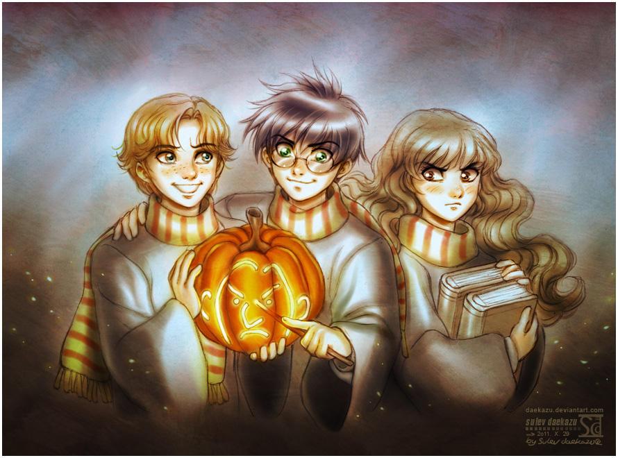 Resultado de imagem para halloween harry potter
