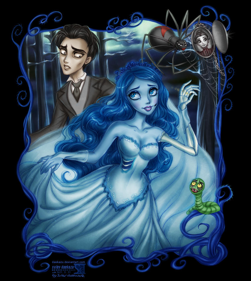 Corpse Bride: Emily and Victor by daekazu on DeviantArt