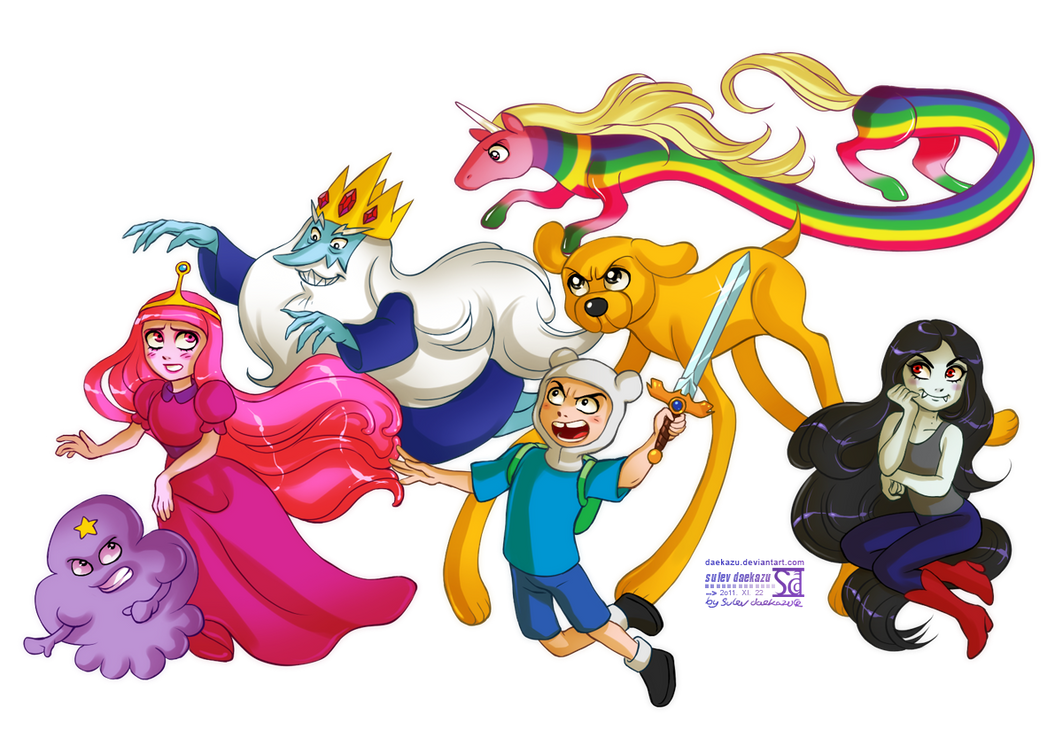 Adventure Time by daekazu