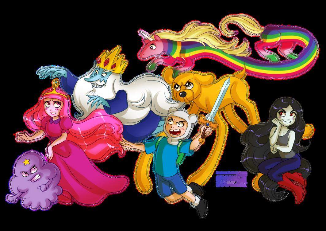 Adventure Time by daekazu