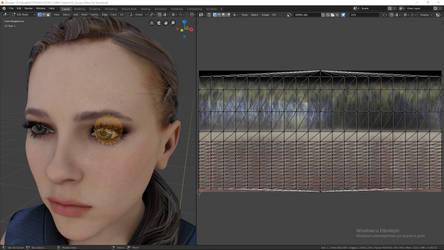 Detroit: Become Human - Eye Editing Tutorial