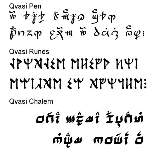 Qvasi Fonts 3pack
