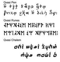 Qvasi Fonts 3pack by qvasi