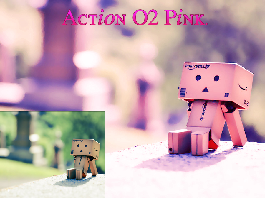 Action #O2 Pink by AlmeBG