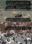 Digicamo Pixels Brushes