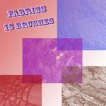 Photoshop Brushes: Fabrics
