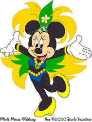 Samba Dancer Minnie Mouse