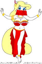Belly Dancer Minerva Mink