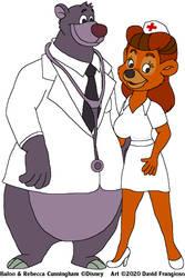 Dr. Baloo and Nurse Rebecca