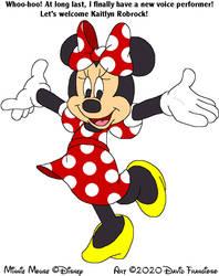 Minnie's New Voice Announcement