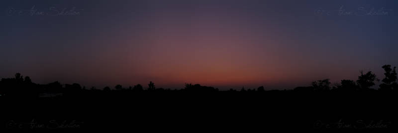 Sunset Maximized Pano