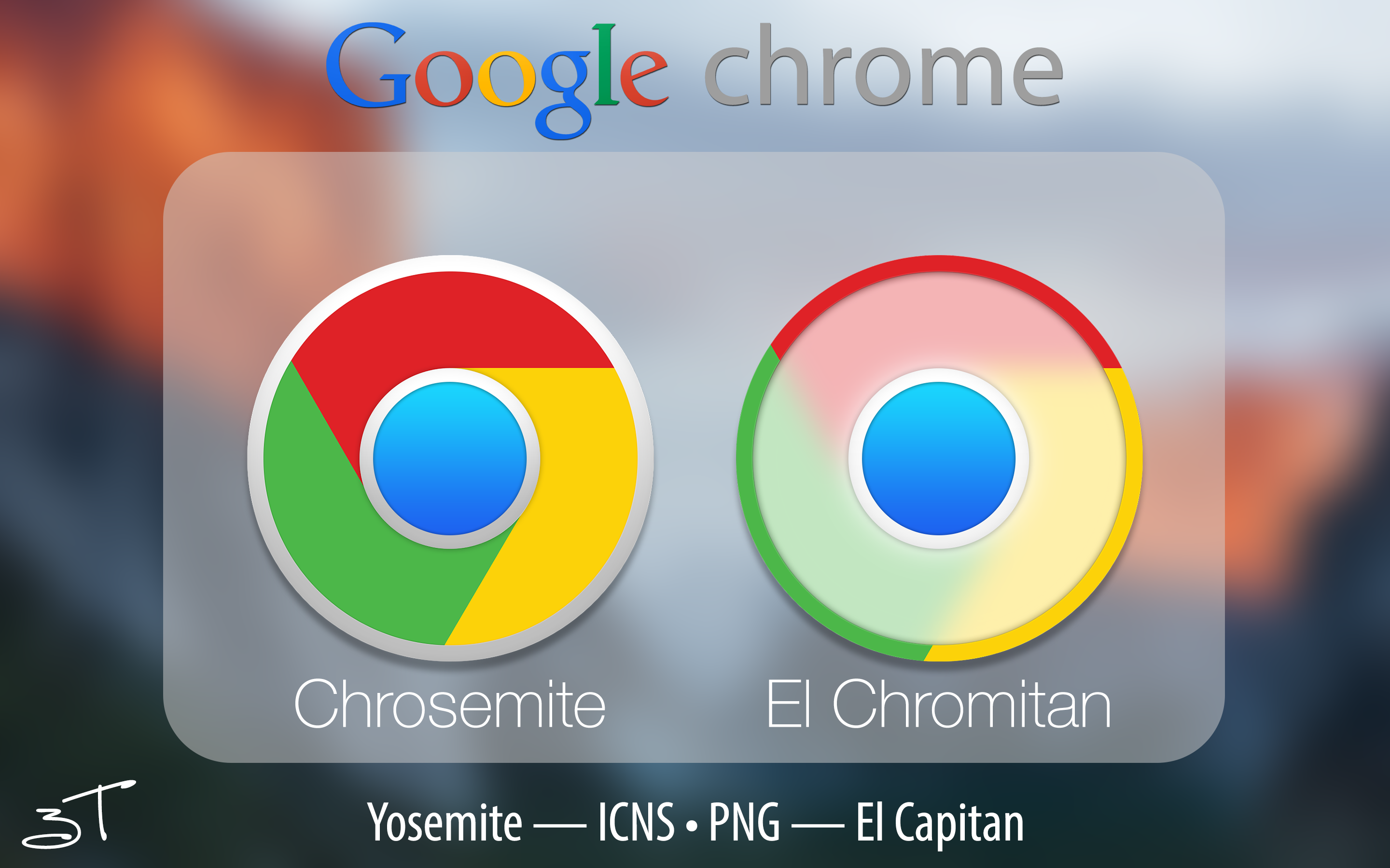 Chrome Icon El Capitan