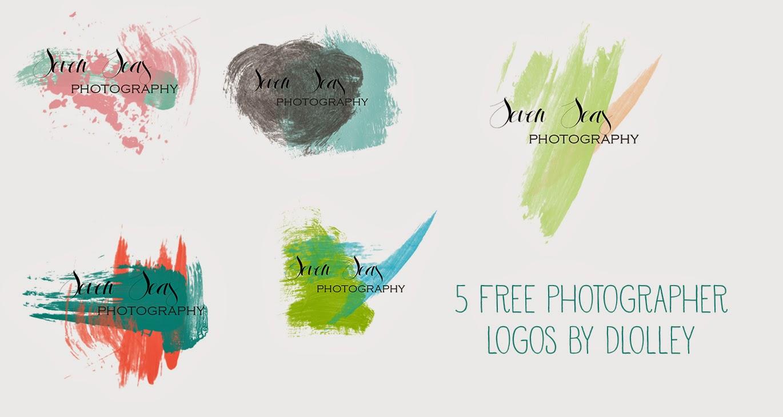 Photography logo design psd