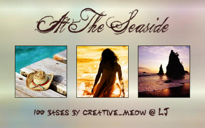 Icon Bases: At The Seaside by Sardistri