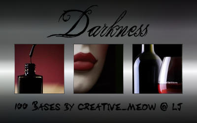Icon Bases: Darkness by Sardistri