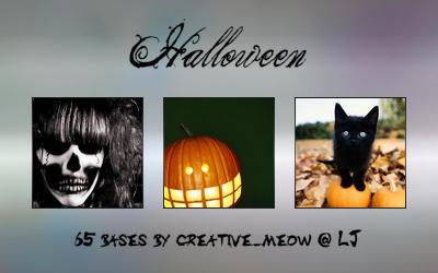 Icon Bases: Halloween by Sardistri