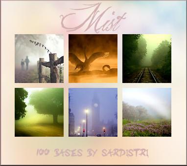 Mist Icon Bases by Sardistri