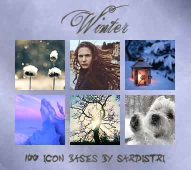 Icon Bases: Winter by Sardistri