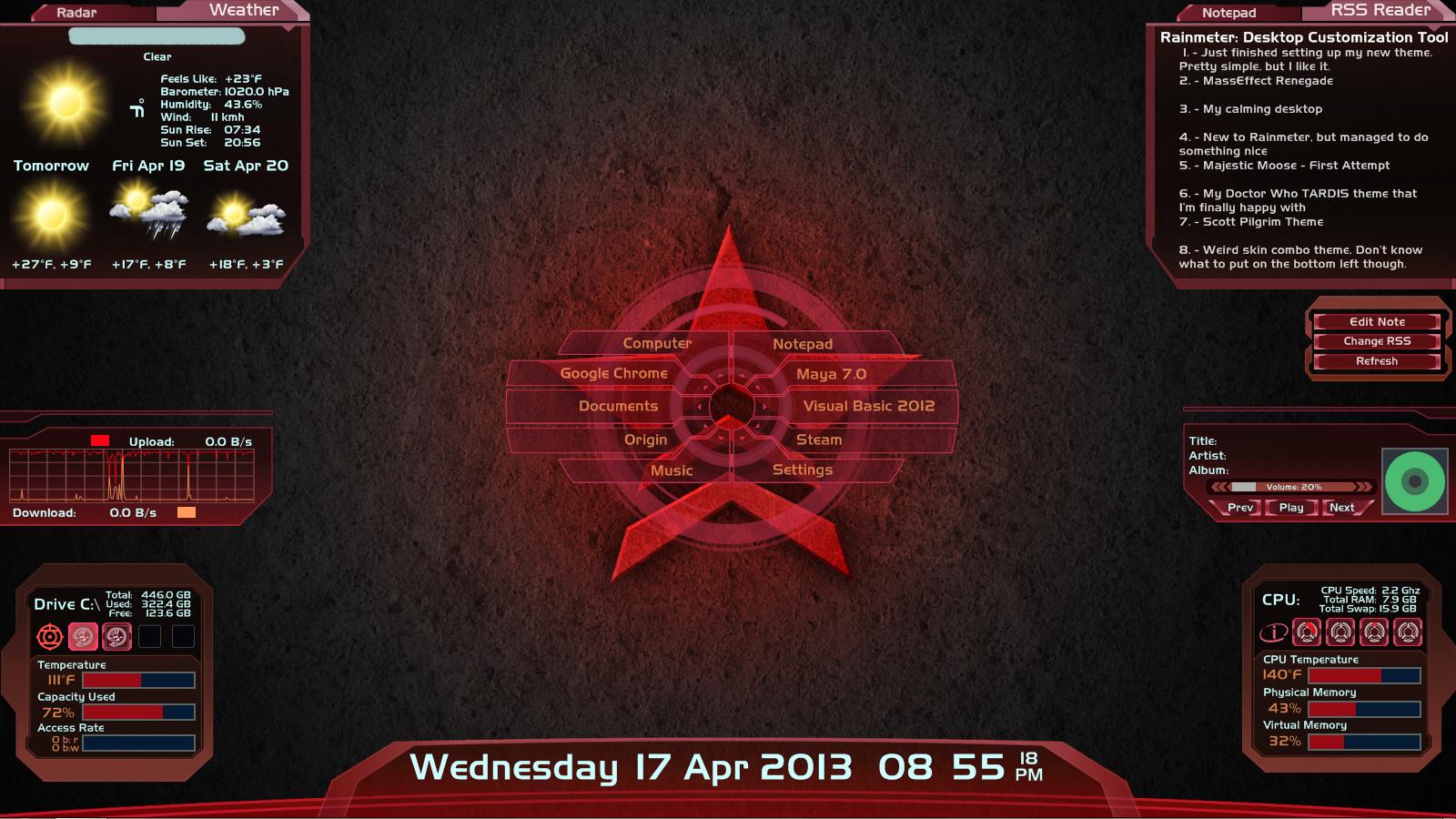 Mass Effect Renegade 2.0 by Shotstrider