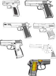 handgun stock