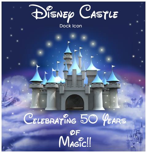 Disney Castle Dock Icon by imwalkingwithaghost