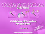 Magic Pink Folders