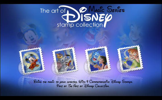 Disney Stamp Collection- Magic