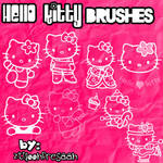 Hello kitty brushes