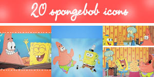 SpongeBob Icon Pack by Shade-EX