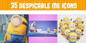 Despicable Me Icons by Shade-EX