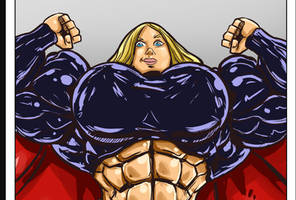 *extra buff* *animated* Super Girl transformation