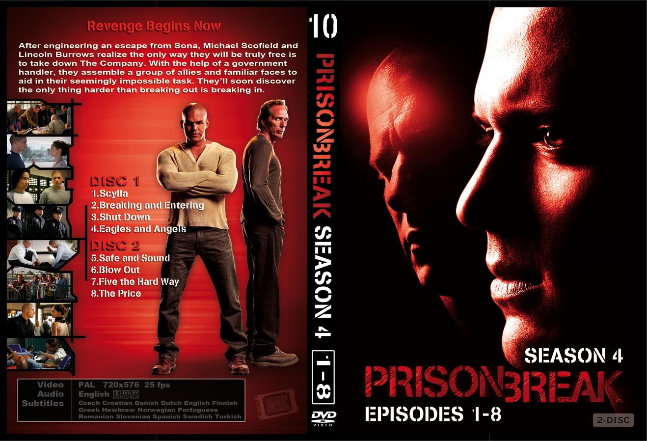 Prison Break Season 4 Cover By Miracol On Deviantart