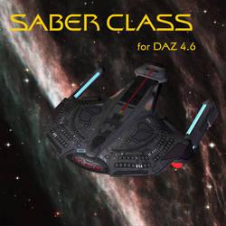 Saber Class-daz4.6 by TrekkieGal