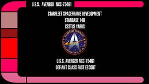USS Avenger NCC-75461 Deck Plans