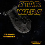 Star Wars: YT-2400 Outrider for DAZ 4.10