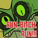 Mutant run cycle