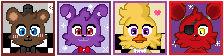 Free little FNAF icons