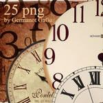25 png clock