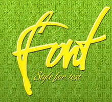 Style by Agency-fonts