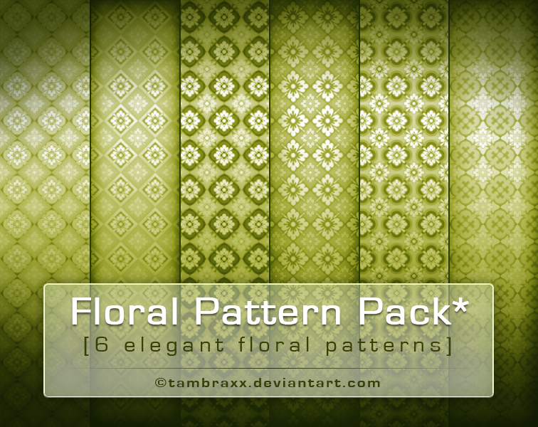 My Floral Pack 4 U by tambraxx