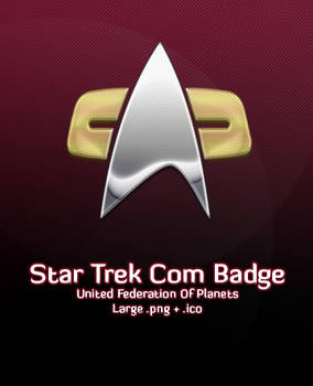 Star Trek Com Badge